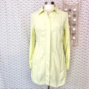 Soft Surroundings Sun Drenched Yellow Silk Tunic